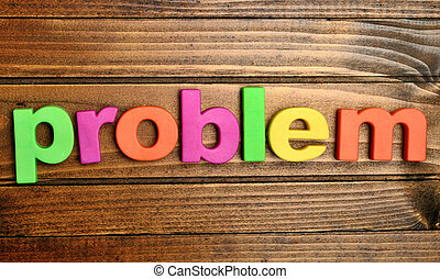Problem word on table