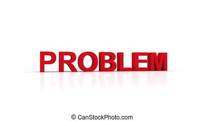 problem, zdruzgotany