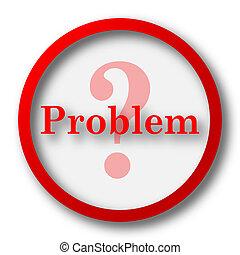 problema, ícone