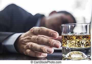 problema con alcohol