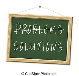problemas, soluções