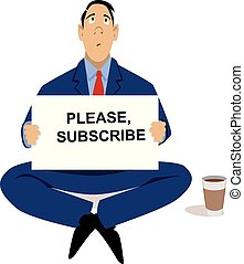 Problems with subscription business