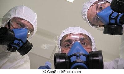 procès, protecteur, urgence, médecins, service., monde médical, porter, patient.