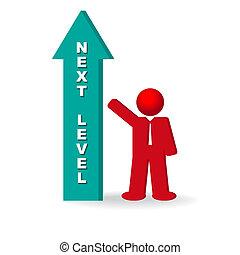 proceder, empresa / negocio, nivel, carrera, ambicioso, ...