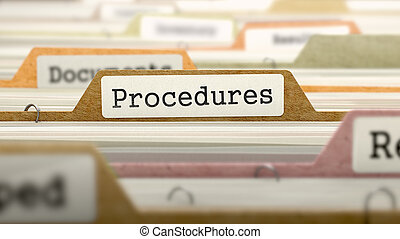 procedimentos, conceito, ligado, pasta, register.