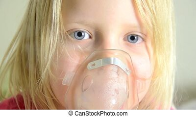 procedure inhalation of child
