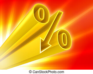 procent, dyskonto, złoty