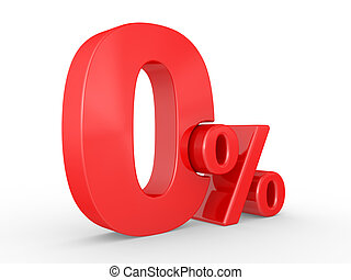procent, zero