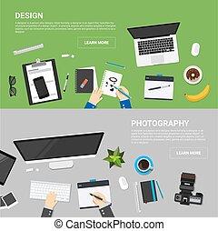 proces, płaski, pojęcia, projektować, twórczy