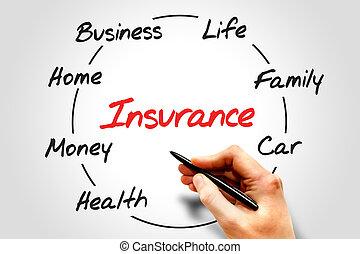 proces, verzekering, cyclus