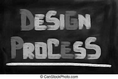 proceso, concepto, diseño
