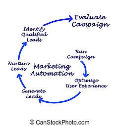 proceso, mercadotecnia, automatización