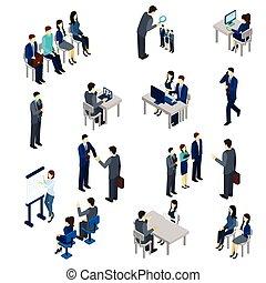 proceso, reclutamiento, conjunto