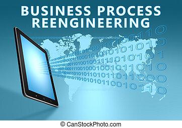 proceso, reengineering, empresa / negocio