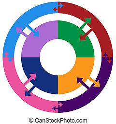 Process Chart Flat