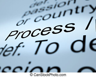 Process Definition Closeup Showing Result From Actions