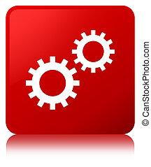 Process icon red square button