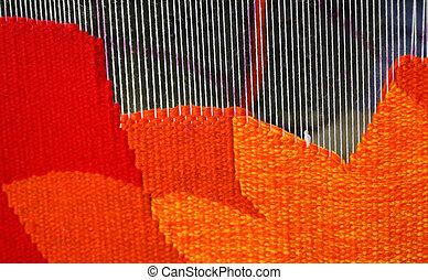 Process of carpet making