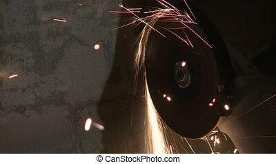 Process of cutting metal
