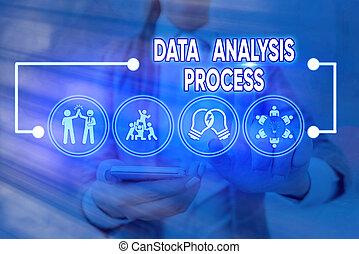 process., pojęcie, dane, analiza, tablica rozdzielcza, analizować, tekst, handlowy, pisanie, słowo, visualization., wykresy, budować