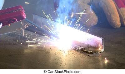 Processes of welding