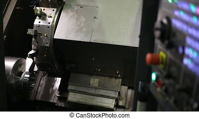 Processing mills for CNC round bright shiny parts with...