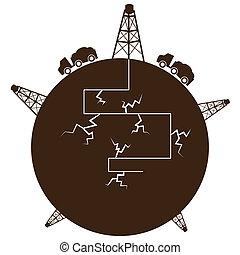 processo, globo, fracking