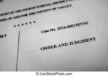 processo, procedimentos, legal, ordem, decreto, julgamento