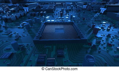 Processor Installation on the Motherboard Process with...