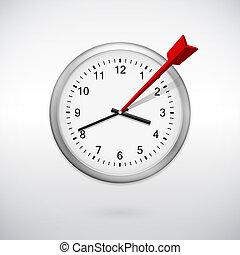 processus, gestion, planification, concept, temps
