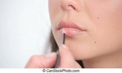 processus, maquillage