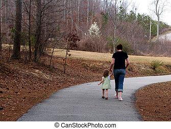procházka spolu
