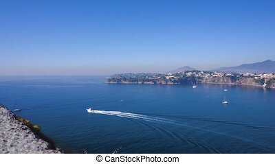Procida island, Italy - Procida island harbour aerial view...