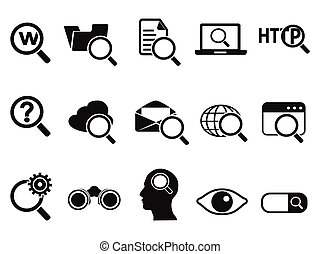 procurar, ícones, jogo