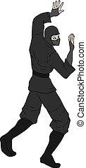 procurar, desenhar, ninja