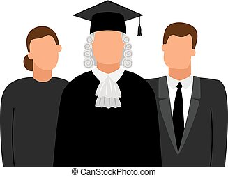 procurator, 裁判官, 弁護士, アイコン