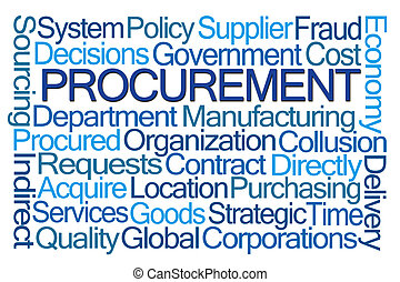 procurement, 詞, 雲
