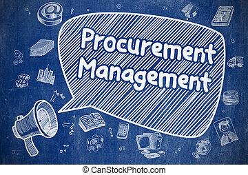 Procurement Management - Business Concept.
