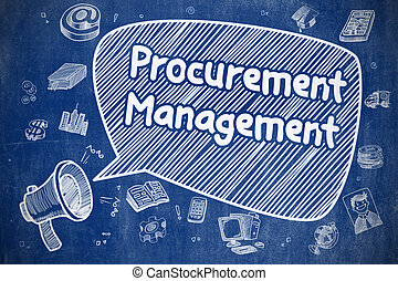 Procurement Management - Business Concept.