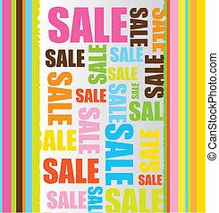 prodej, grafické pozadí