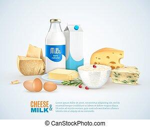 prodotti, latte, sagoma