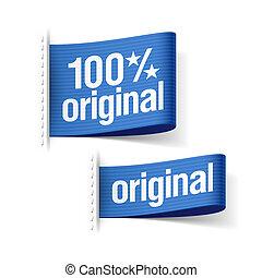 prodotto, 100%, originale