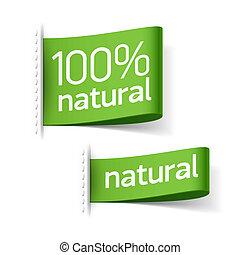 prodotto, etichette, naturale