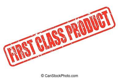 prodotto, francobollo, testo, classe, rosso, primo
