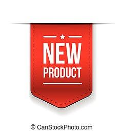 prodotto nuovo, nastro rosso