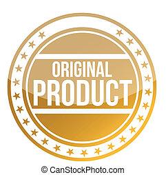 prodotto, originale, illustrazione