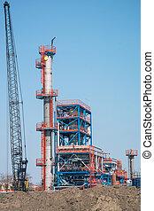 prodotto petrochimico, pianta industriale