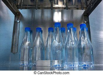 producao, de, água potável, em, households.
