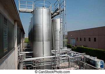 producao, de, industrial, óleo