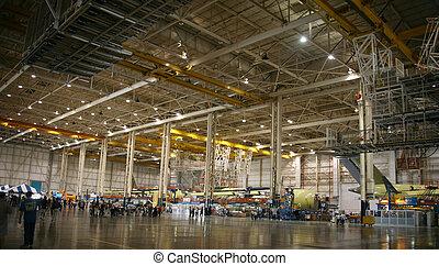 producción, aviones